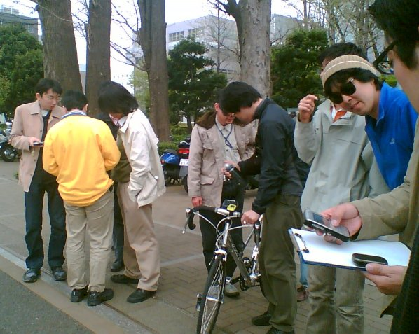 Tokyo LUG Openstreetmap mapping party