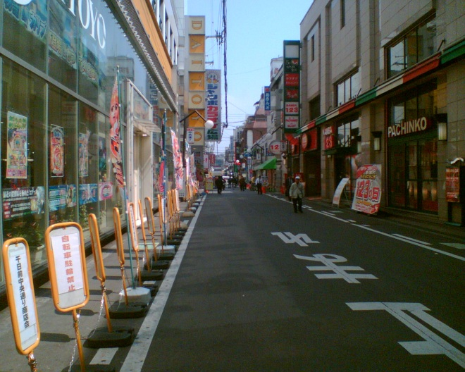 Megacity mapping in Japan. A challenge. Urban environment in small town