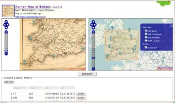 first peek at new opensource map rectifier