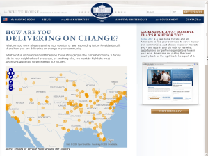 Open Maps in White House with Obama