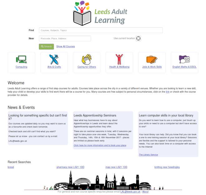Screenshot-2017-11-22 Find courses near you in Leeds - Adult Learning in Leeds